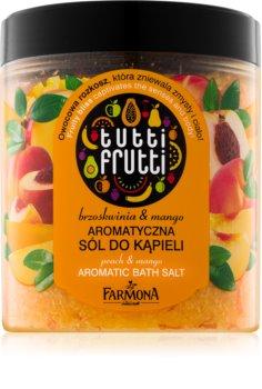 Farmona Tutti Frutti Peach & Mango sůl do koupele