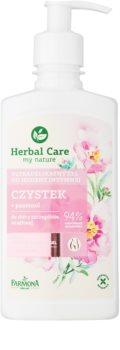 Farmona Herbal Care Cistus gel suave para higiene íntima para pieles sensibles
