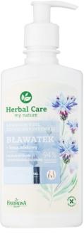 Farmona Herbal Care Cornflower gel calmant pentru igiena intima pentru piele sensibila si iritata