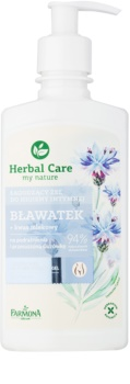Farmona Herbal Care Cornflower заспокійливий гель для інтимної гігієни для чутливої та подразненої шкіри