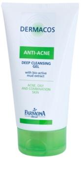 Farmona Dermacos Anti-Acne globoko čistilni gel