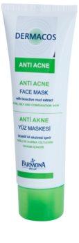 Farmona Dermacos Anti-Acne máscara facial com caolim