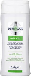 Farmona Dermacos Anti-Acne antibakterielles Tonikum zur Reduktion geweiterter Poren