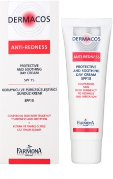 Farmona Dermacos Anti-Redness Protective Soothing Moisturiser SPF15