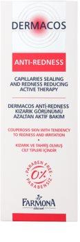 Farmona Dermacos Anti-Redness gel-sérum para fortalecimento de veias frágeis e para prevenção de varizes