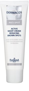 Farmona Dermacos Anti-Spot aktívny nočný krém k redukcii pigmentových škvŕn