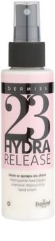 Farmona Dermiss Hydra Release feuchtigkeitsspendende Creme für die Hände im Spray