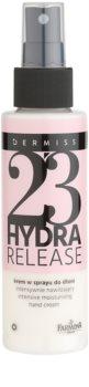 Farmona Dermiss Hydra Release hydratačný krém na ruky v spreji