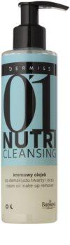 Farmona Dermiss Nutri Cleansing huile démaquillante visage et yeux