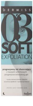 Farmona Dermiss Soft Exfoliation čisticí peelingový gel pro obnovu povrchu pleti