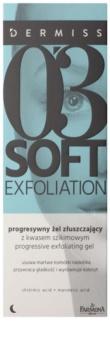 Farmona Dermiss Soft Exfoliation Cleansing Gel Scrub For Skin Resurfacing
