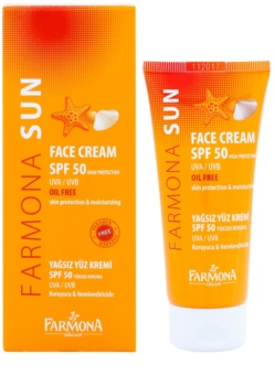 Farmona Sun schützende Creme für fettige und gemischte Haut SPF 50
