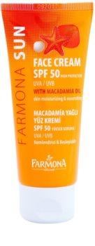 Farmona Sun zaščitna krema za normalno in suho kožo SPF50