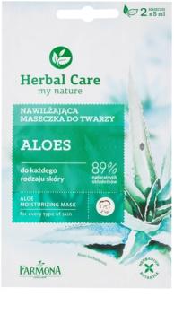 Farmona Herbal Care Aloe mascarilla hidratante para todo tipo de pieles