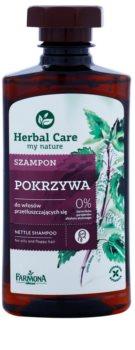 Farmona Herbal Care Nettle sampon zsíros hajra