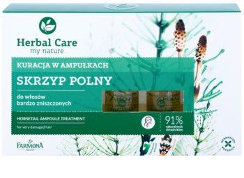 Farmona Herbal Care Horsetail intenzivní kúra pro velmi poškozené vlasy