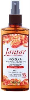 Farmona Jantar brume régénérante traitement des cheveux abîmés