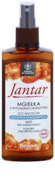 Farmona Jantar regeneráló permet száraz és törékeny hajra