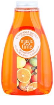 Farmona Magic Time Citrus Euphoria gel de ducha y baño con efecto nutritivo