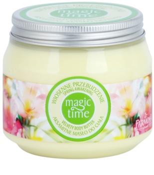 Farmona Magic Time Spring Awakening manteiga corporal aveludada nutrição e hidratação