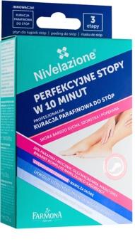 Farmona Nivelazione traitement de paraffine pieds pour peaux très sèches