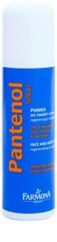 Farmona Panthenol Espuma regeneradora para rosto e corpo