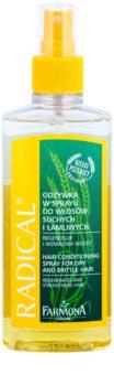 Farmona Radical Dry & Brittle Hair kondicionér v spreji s regeneračným účinkom