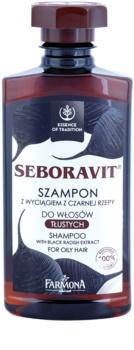 Farmona Seboravit champô para cabelo e couro cabeludo oleosos