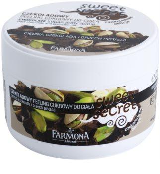 Farmona Sweet Secret Chocolate cukrový peeling na tělo