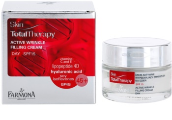 Farmona Skin Total Therapy aktivna dnevna krema proti gubam SPF 15