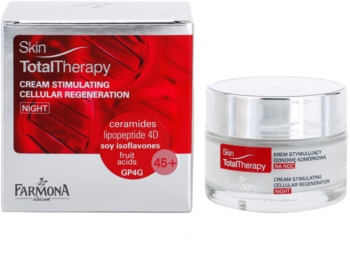 Farmona Skin Total Therapy crème de nuit pour stimuler la régénération des cellules