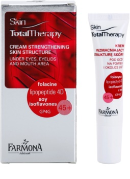 Farmona Skin Total Therapy Smoothing Cream for Deep Wrinkles around Eyes and Lips