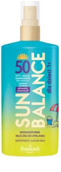 Farmona Sun Balance protetor solar para crianças SPF50