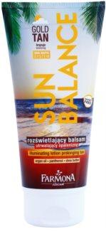 Farmona Sun Balance Bronzing Lotion Prolonging Tan