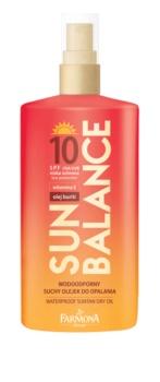 Farmona Sun Balance protetor solar em óleo SPF 10