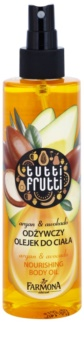 Farmona Tutti Frutti Argan & Avocado tělový olej ve spreji s vyživujícím účinkem