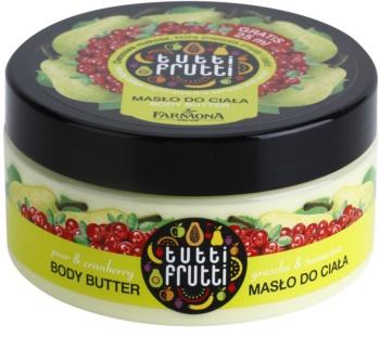 Farmona Tutti Frutti Pear & Cranberry tělové máslo