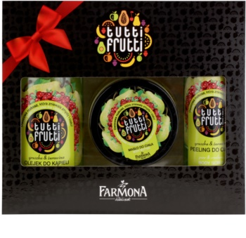 Farmona Tutti Frutti Pear & Cranberry kosmetická sada II.