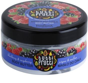 Farmona Tutti Frutti Blackberry & Raspberry manteiga corporal