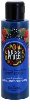 Farmona Tutti Frutti Blackberry & Raspberry exfoliante corporal