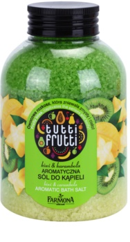 Farmona Tutti Frutti Kiwi & Carambola sol za kopel