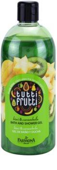Farmona Tutti Frutti Kiwi & Carambola gel za prhanje in kopanje