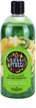 Farmona Tutti Frutti Kiwi & Carambola żel do kąpieli i pod prysznic
