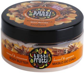 Farmona Tutti Frutti Caramel & Cinnamon masło do ciała