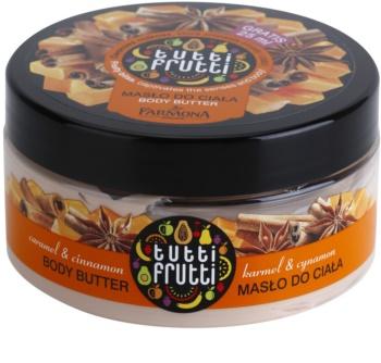Farmona Tutti Frutti Caramel & Cinnamon maslo za telo