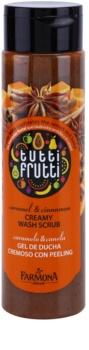 Farmona Tutti Frutti Caramel & Cinnamon krémový sprchový peeling