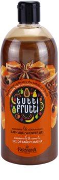 Farmona Tutti Frutti Caramel & Cinnamon sprchový a koupelový gel
