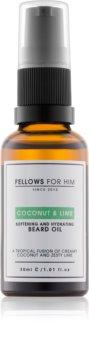 Fellows for Him Coconut & Lime Beard Oil