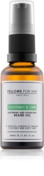 Fellows for Him Coconut & Lime olej na vousy