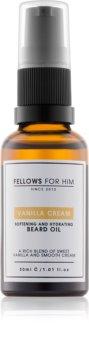 Fellows for Him Vanilla Cream óleo para barba